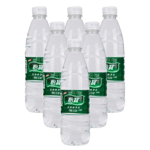 555ml怡宝纯净水
